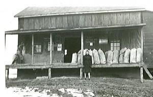 The original Jones Feed Mill in Linwood (1930)